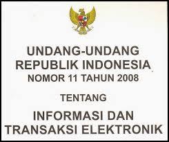 undang Informasi dan Transaksi Elektronik atau Undang Download UU ITE (Informasi dan Transaksi Elektronik)