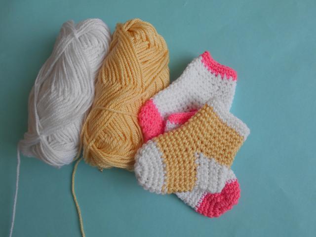 Crochet Crosia Free Patttern With Video Tutorials Baby Socks