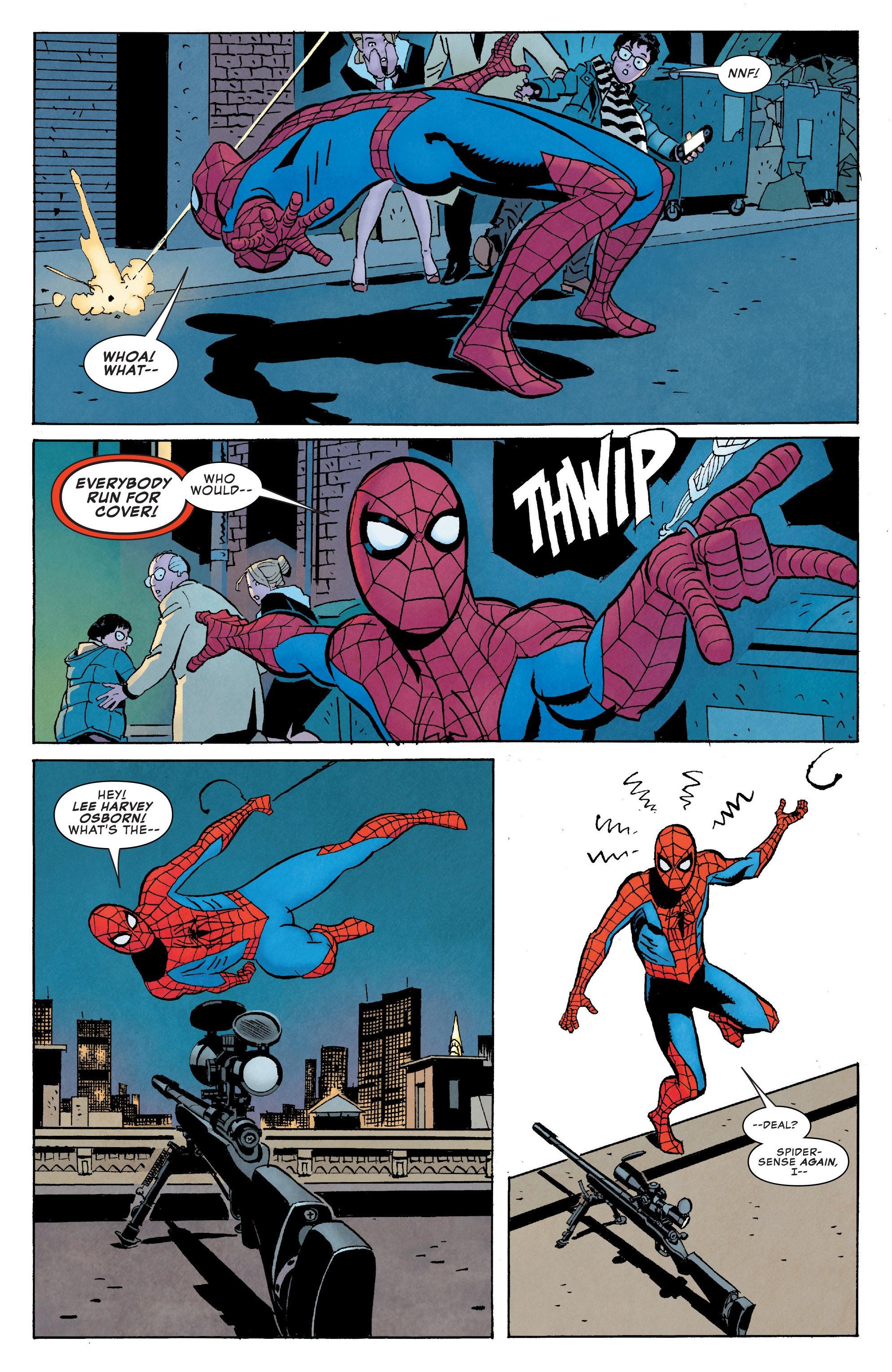 Read online Peter Parker: The Spectacular Spider-Man comic -  Issue #1 - 22