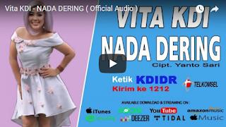 Lirik Lagu Vita KDI - Nada Dering