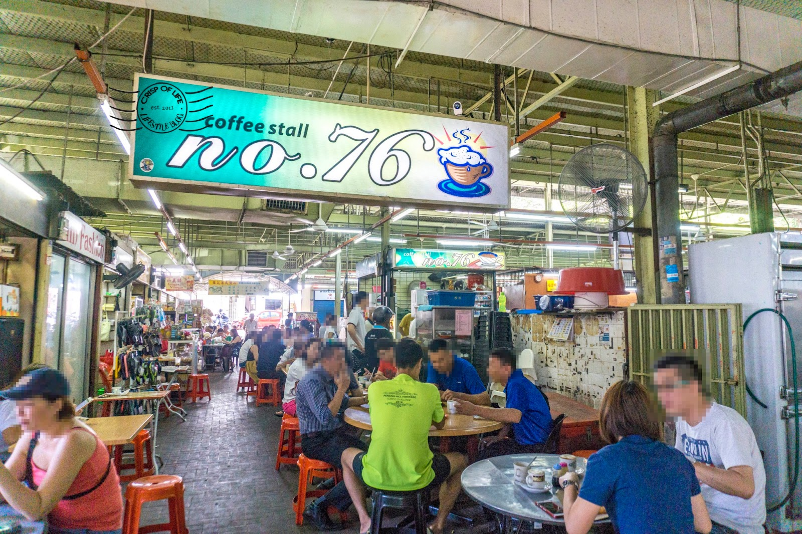 Coffee breakfast in Penang 76 Coffee Stall Batu Lanchang
