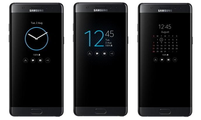 "Fitur ""Always-on Display"" pada Samsung Galaxy Note 7"