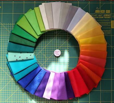 whatshadeareyou RJRFabrics Rainbow fabrics
