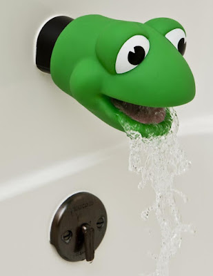 Froggie Bath Spout Cover