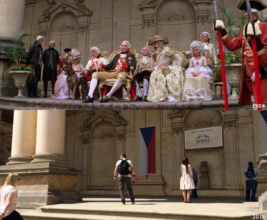 The cinescapader visiting filming locations of amadeus for Prague location
