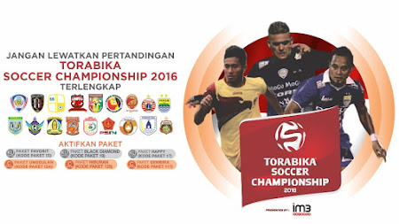 Paket Orange TV Torabika Soccer Championship 2016