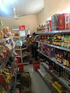 Someone just went to China Supermarket in Abuja that allegedly banned Nigerians, here's what he found