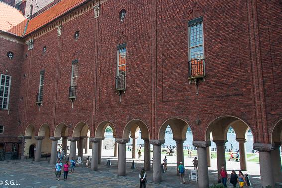 Exteriores. El ayuntamiento de Estocolmo y su cita con los nobel