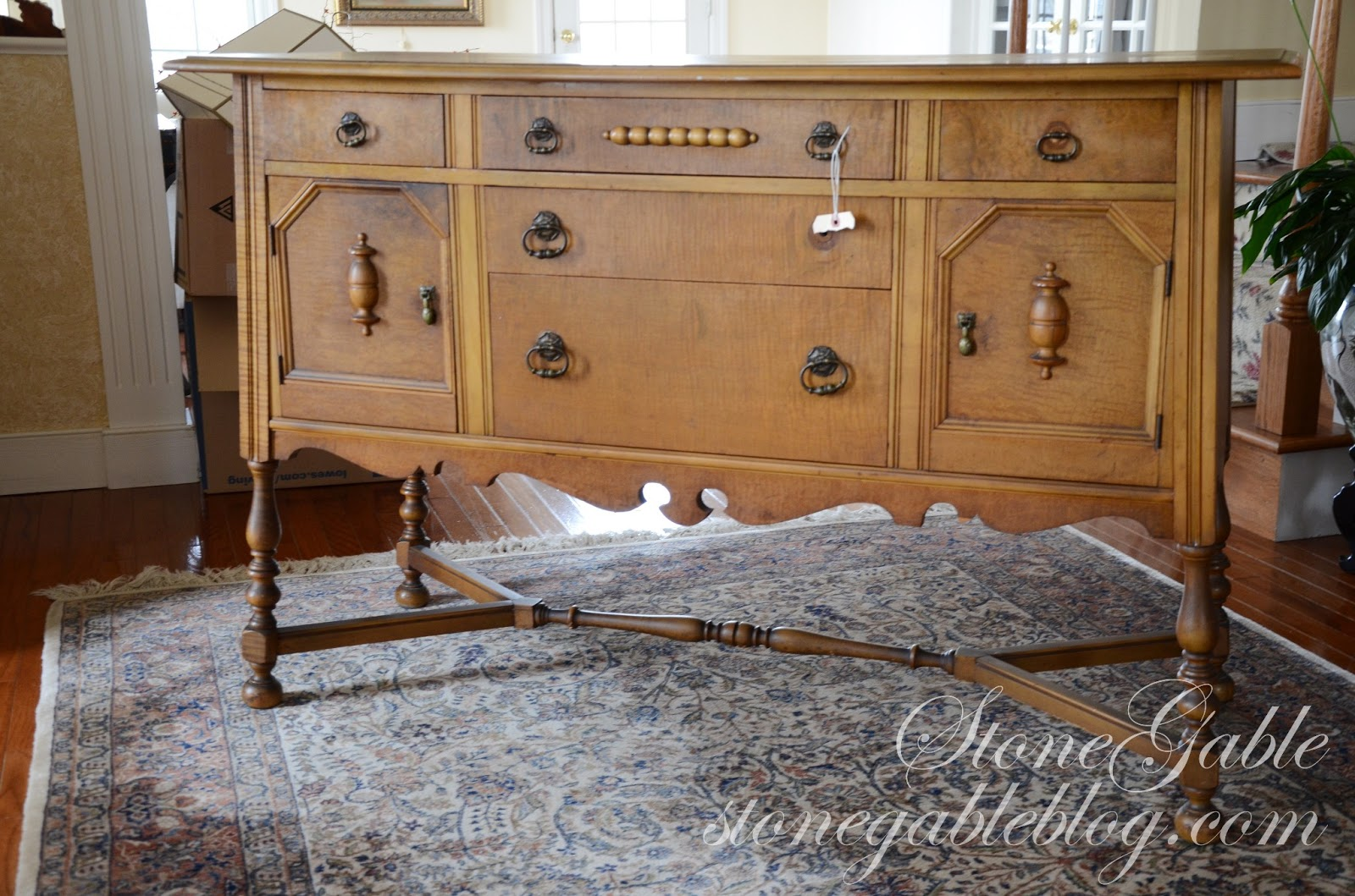 Sideboard Real The Find Buffet Hunting Stonegable