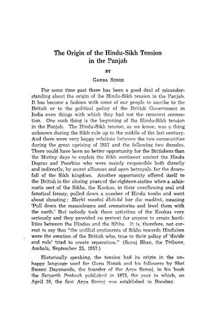https://sikhdigitallibrary.blogspot.com/2018/11/the-origin-of-hindu-sikh-tension-in.html