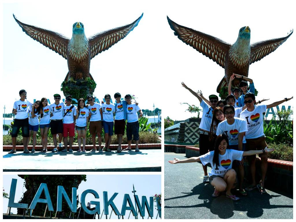 午后雨。 Langkawi 3d2n Bojio Gang Trip Day 3
