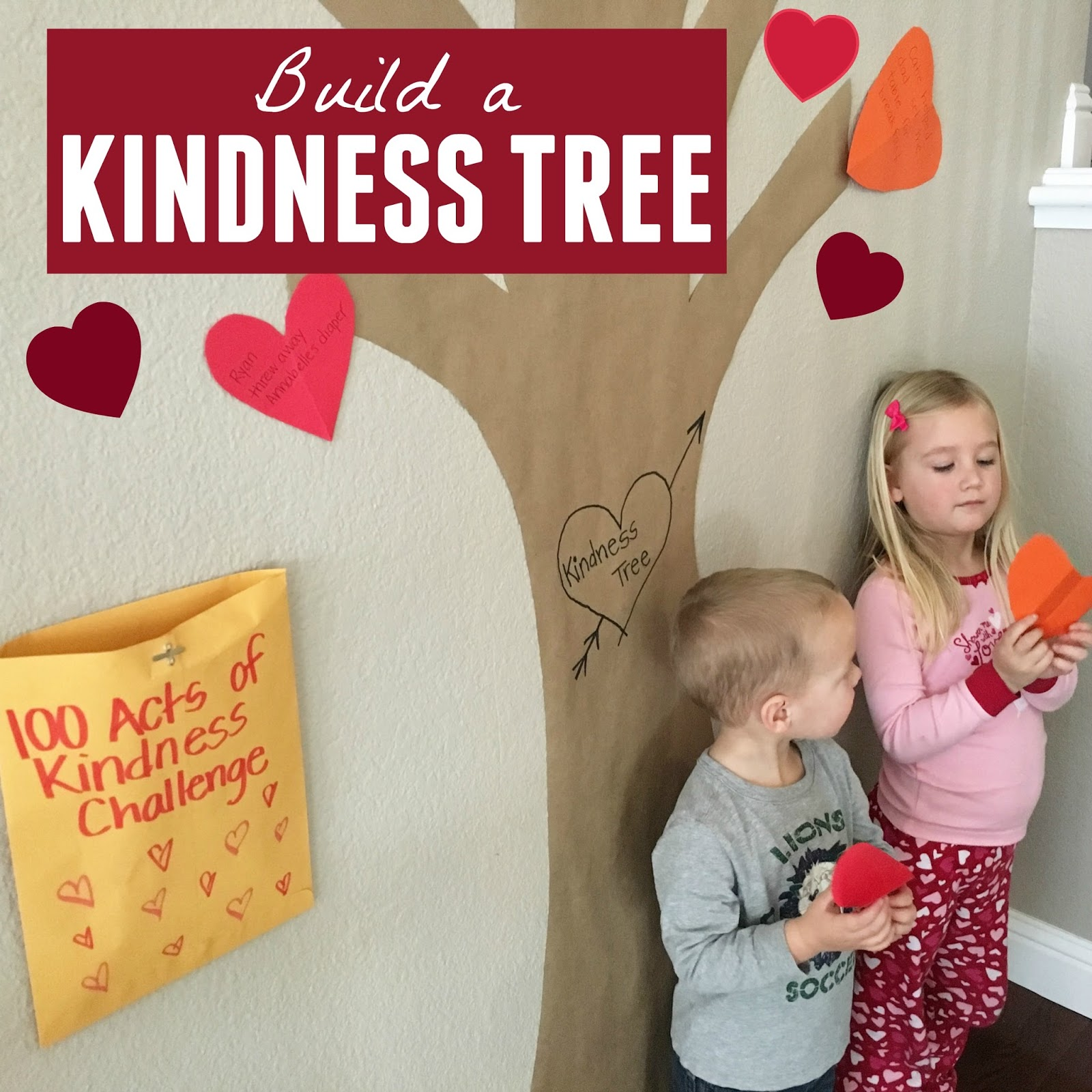Toddler Approved Build A Kindness Tree
