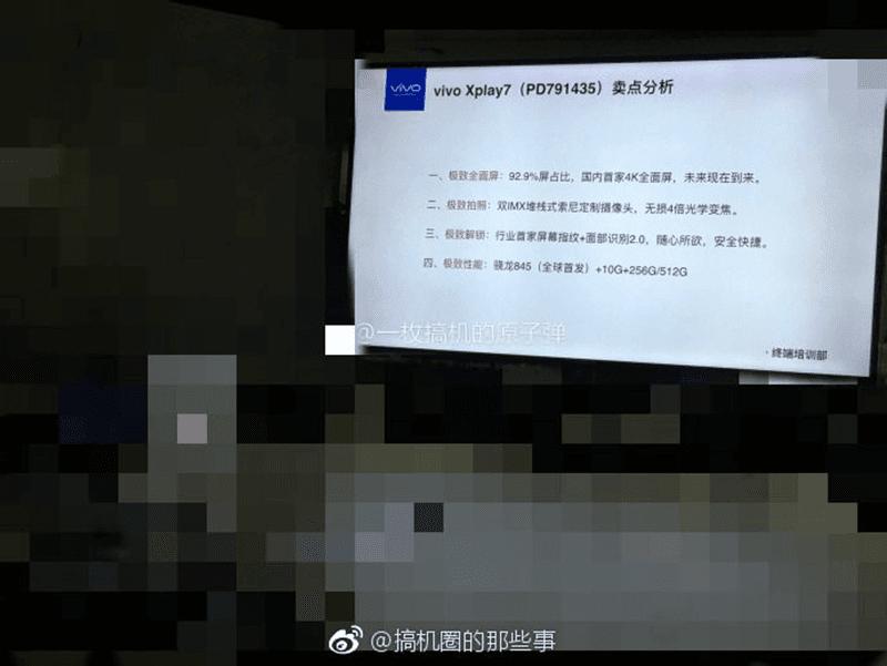 Vivo Xplay7 to have 10GB of RAM?