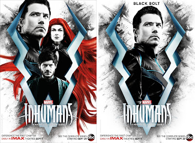 Inhumans Television Series Character Poster Set by Marvel