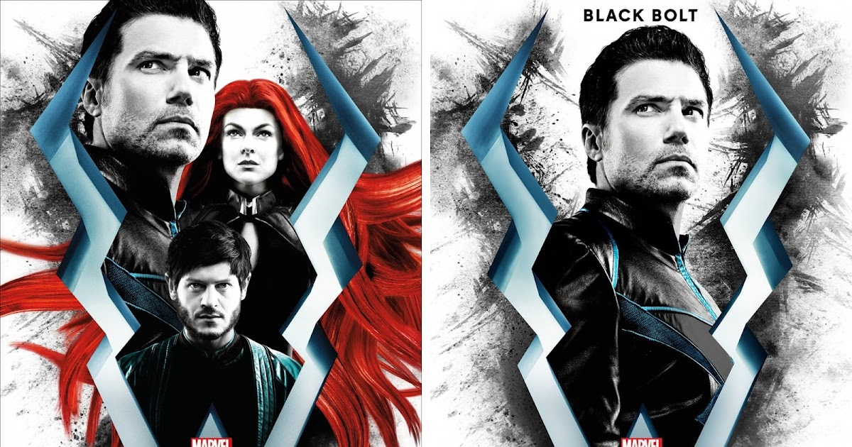 The blot says marvels inhumans tv series character poster set ccuart Image collections