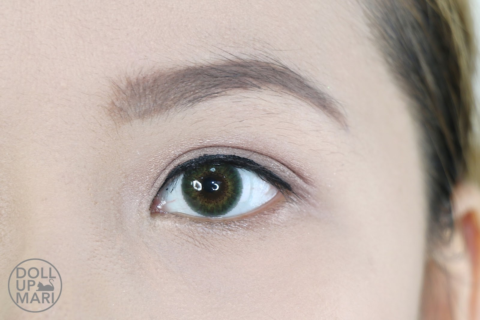 Maybelline Hyperink Liquid Dip Pen Eyeliner Review And Swatches Hyper Ink Eye Liner Black After Using