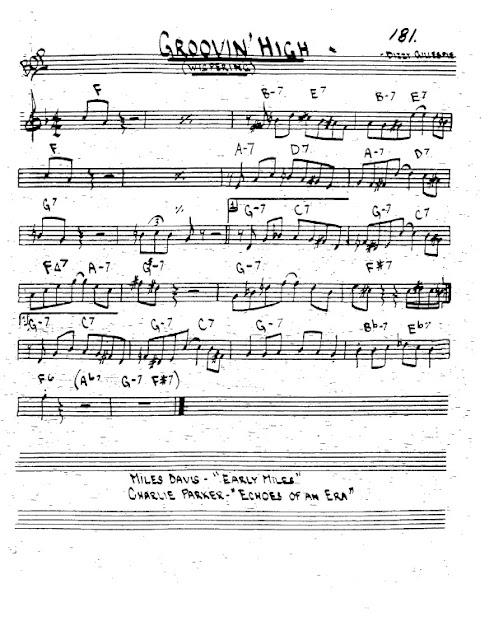 Partitura Trompeta Dizzy Gillespie