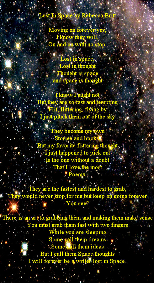 astronomy poems that rhyme - photo #39