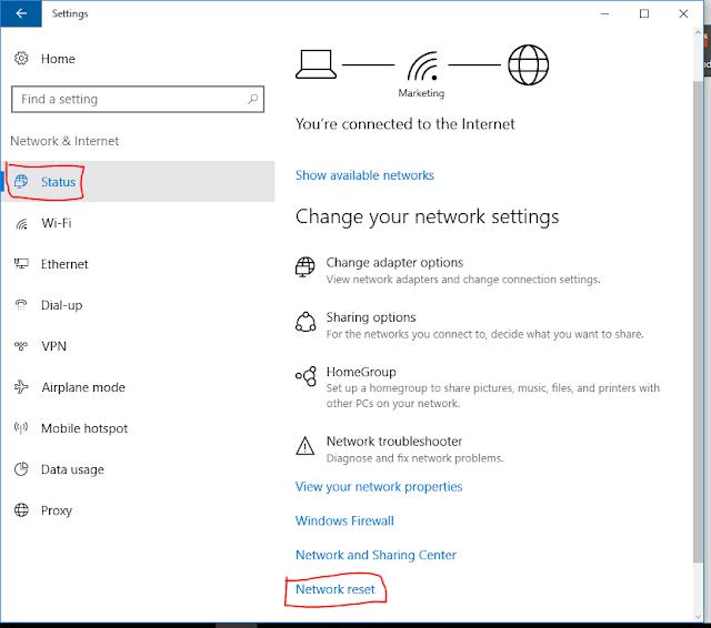 [Thủ thuật] Reset kết nối mạng, thiết lập lại mạng trên Windows 10