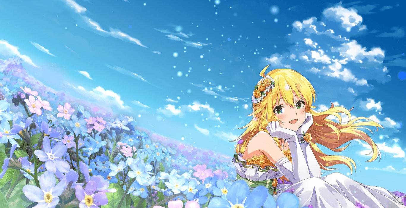 Idolmaster Miki Wedding Dress [Wallpaper Engine Anime]