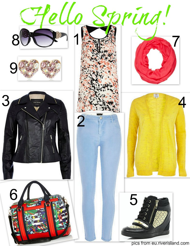 Outfit idea: Hello Spring!