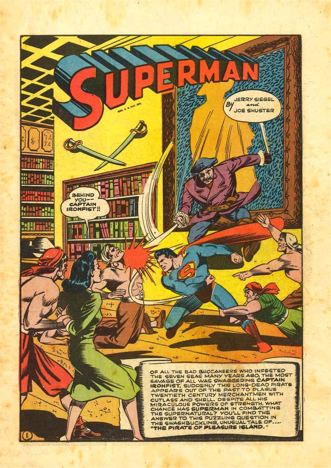 Read online Action Comics (1938) comic -  Issue #54 - 2
