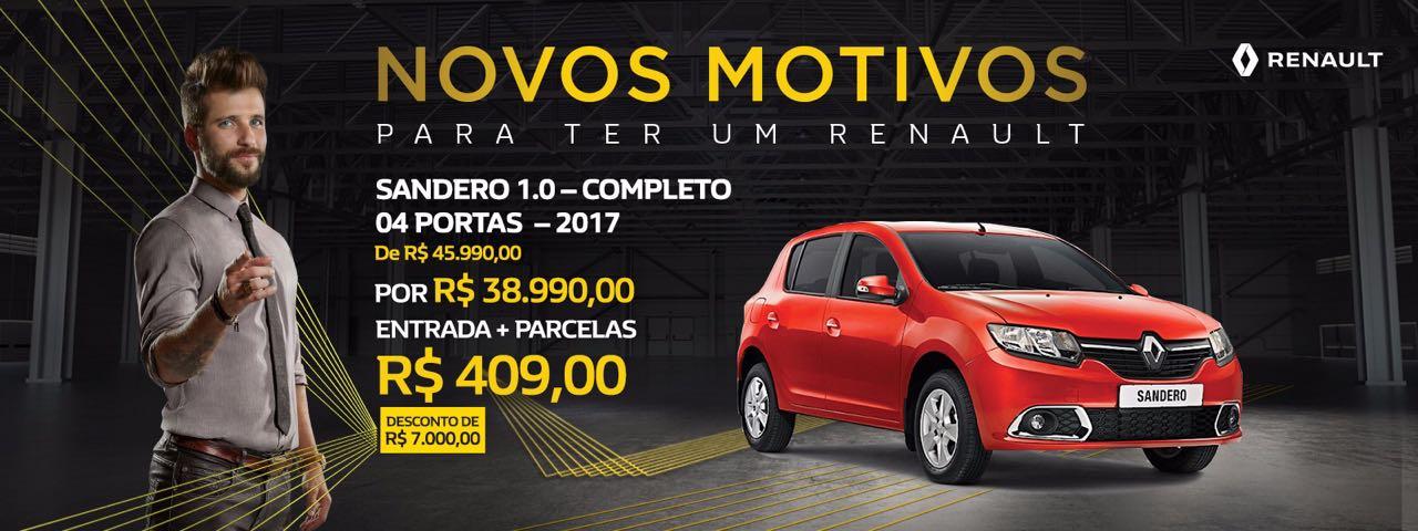 Conheça novos motivos para ter um Renault: ofertas especiais da Via Paris