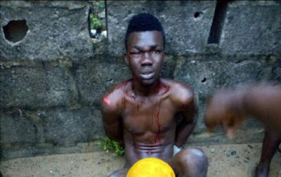 Thief Caught In Lagos After Robbing Woman With Toy Gun