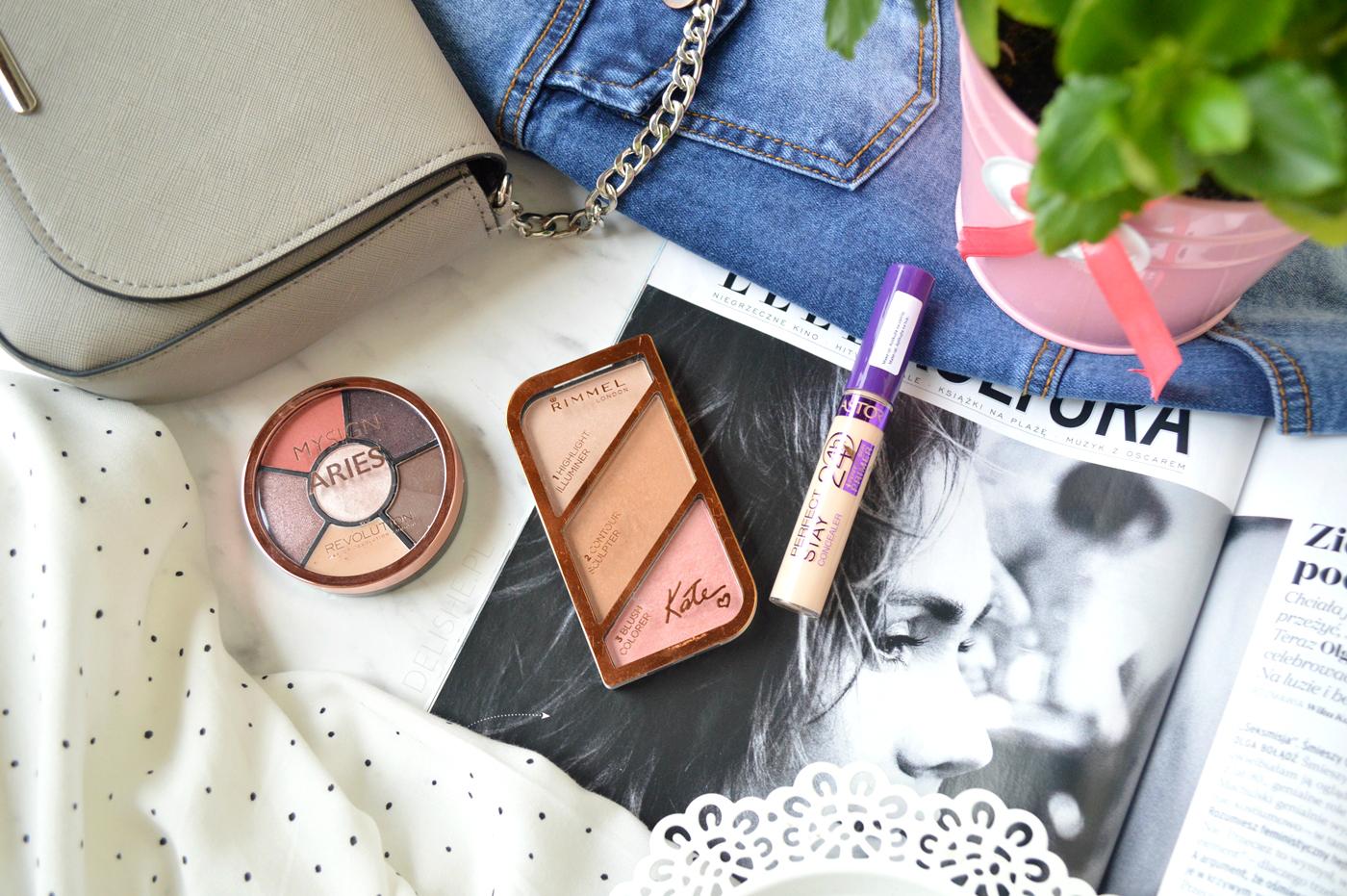 kosmetyki do makijażu haul blog
