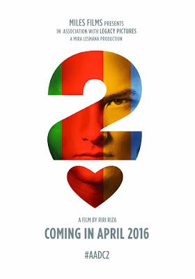 Poster Ada Apa Dengan Cinta 2