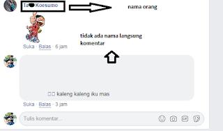 cara menghilangkan nama di facebook