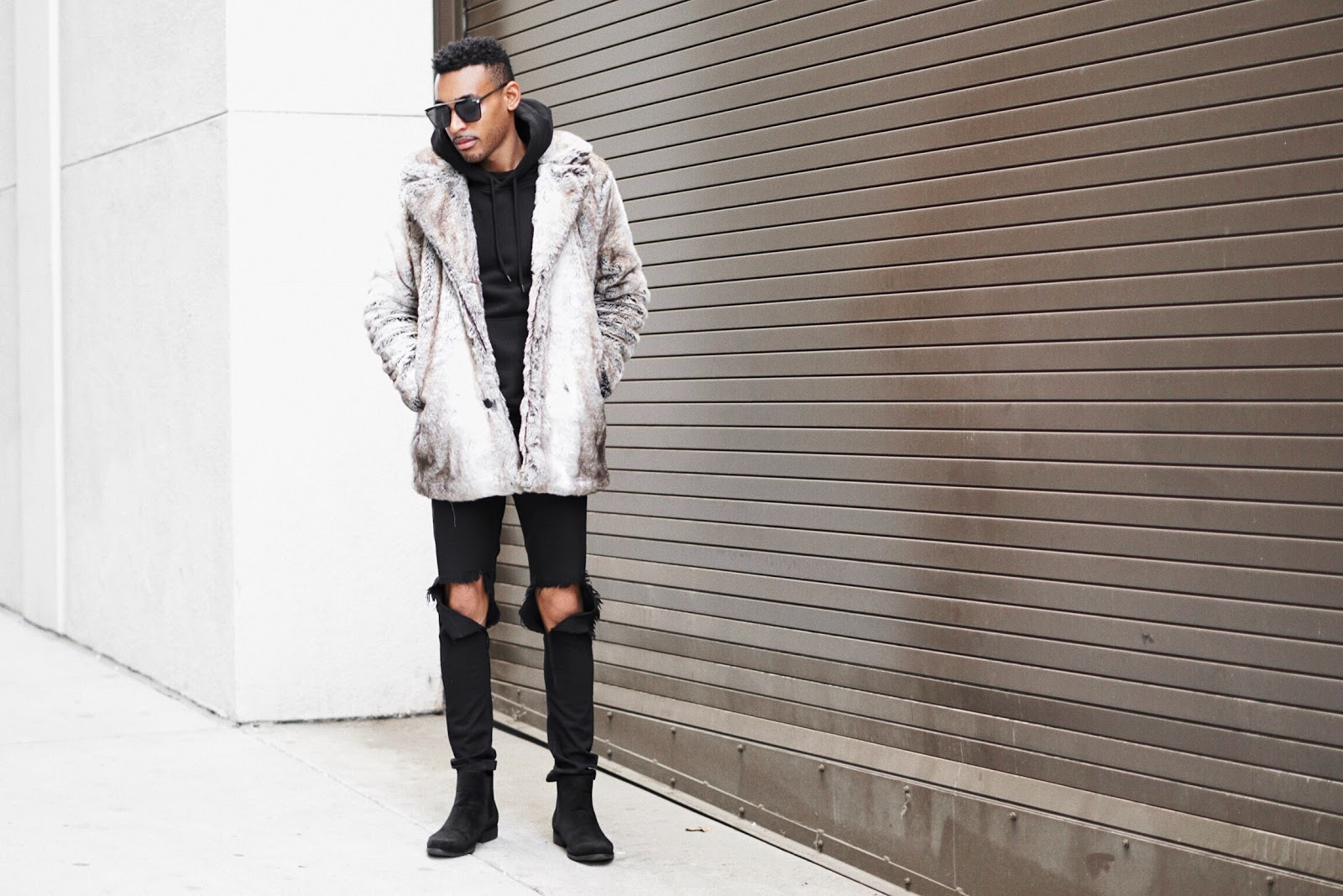 faux fur coats men over coats for men mens fashion fashion coats men fur coats fur coats mens style