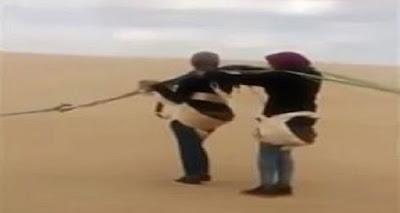 #شاهد |فيديو ممنوع على أصحاب القلوب الضعيفة | تحليق طالبتين مصريتين في مظلة انتهى إلى كارثة دامية