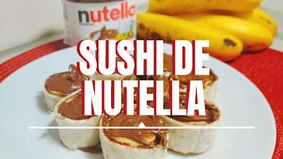 Sushi de Nutella