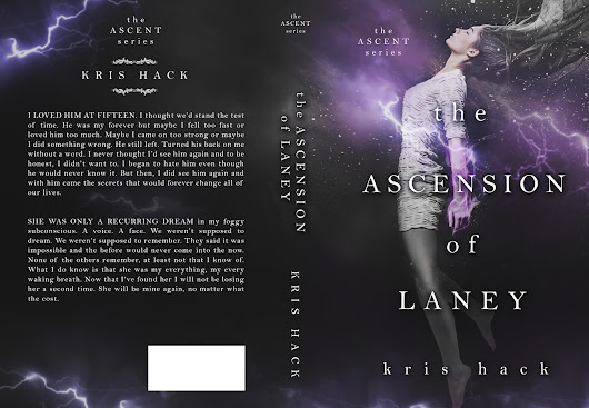COVER REVEAL ~ THE ASCENSION OF LANEY ~ KRIS HACK