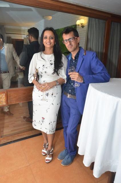(L-R) Rashi Bhimani, Gautam Bhimani