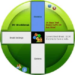 تحميل برنامج ادارت وقت العمل في الكمبيوتر WorkBreak مع سيريال التفعيل