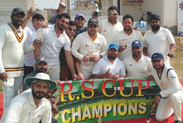 Vijay Bainsla's captaincy, DeVaradevils won the Cricket Gold Cup