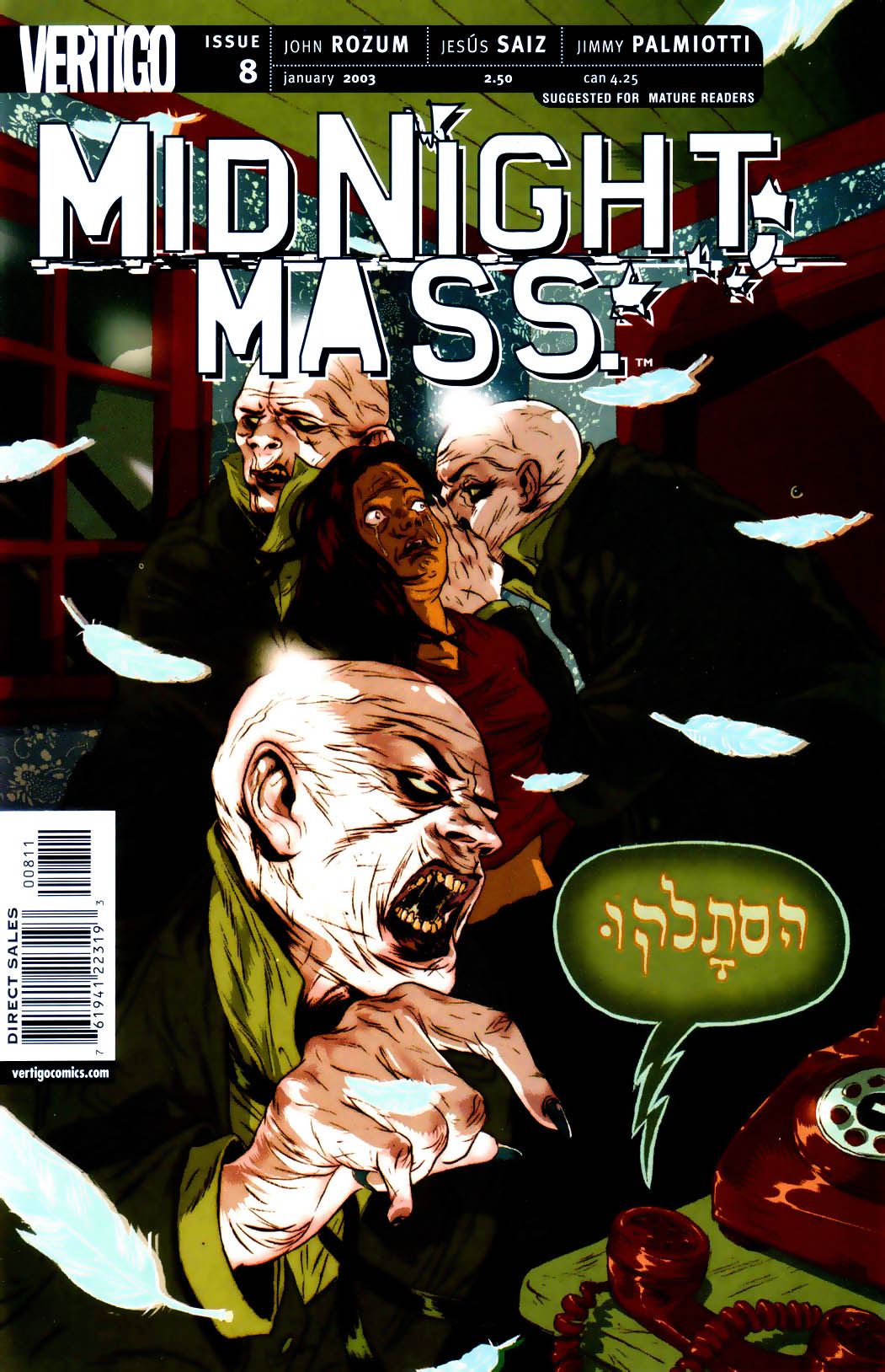 Midnight, Mass issue 8 - Page 1