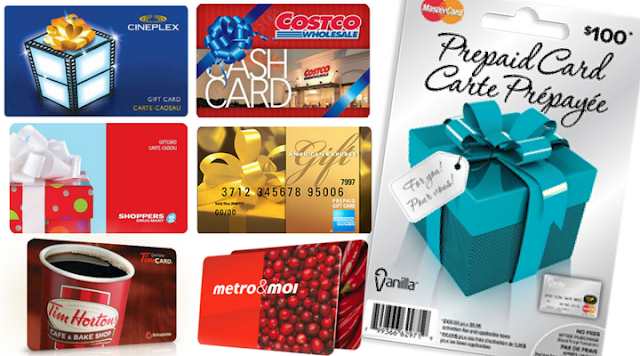 Enter to Win a New Gift Card Every Day