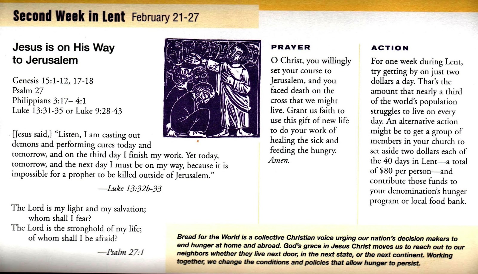 Bread New Mexico Blog: Prayers and Reflections for the Second Sunday