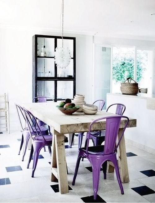 Arredamento e dintorni sedie da abbinare ad un tavolo di legno rustico - Sedie da abbinare a tavolo in legno ...