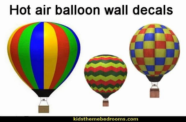 Hot Air Balloons Wall mural Decals