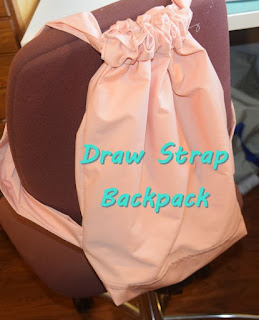 Draw Strap Backpack - Easy Sewing Tutorial