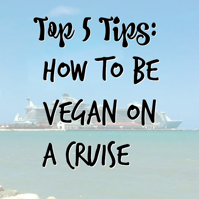 how to be vegan on a cruise
