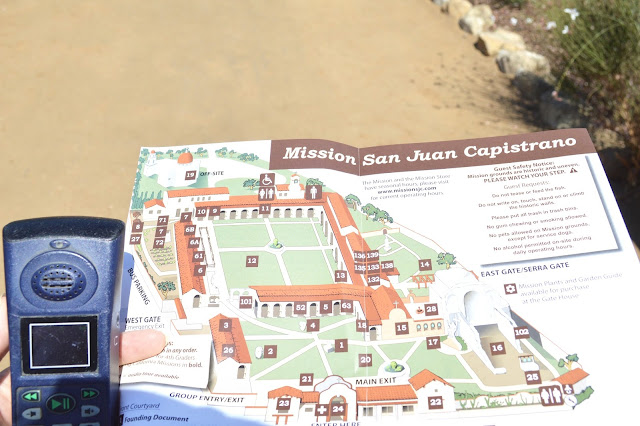 mission saint juan capistrano audio tour