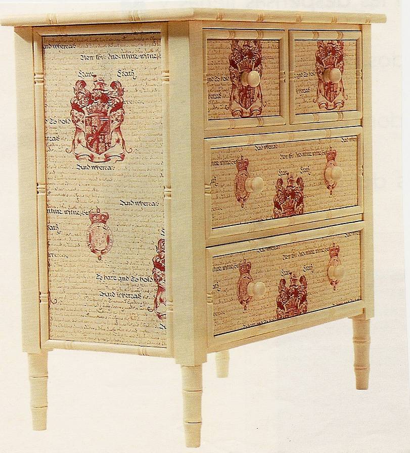 Taller Creativo Gloria Mueble Con Decoupage