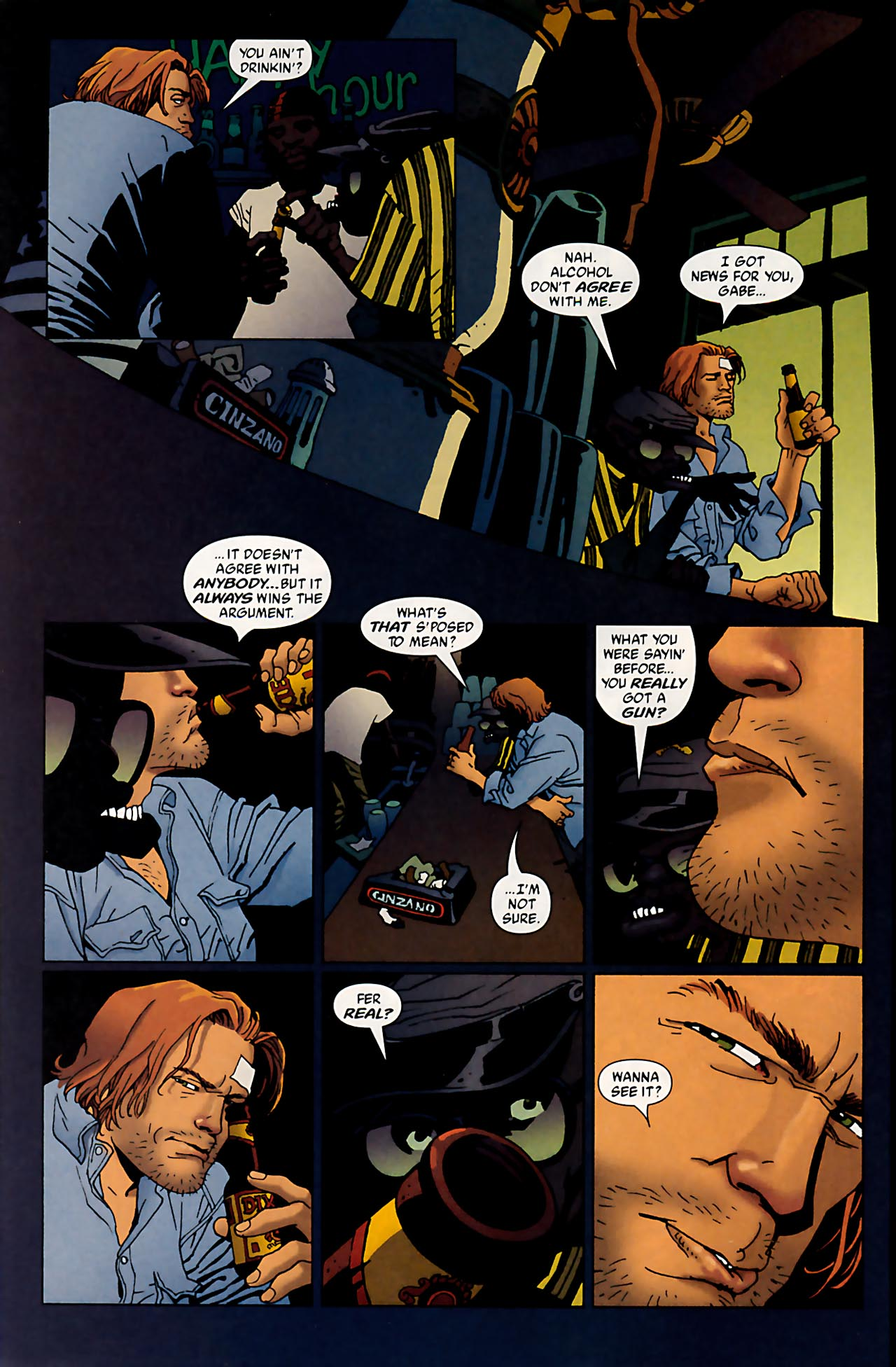 Read online 100 Bullets comic -  Issue #53 - 12