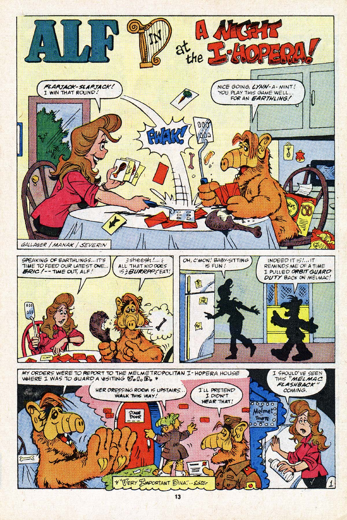 Read online ALF comic -  Issue #21 - 10