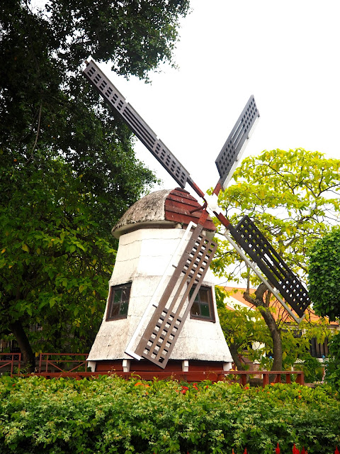 Windmill in the Dutch Square, Melaka, Malaysia